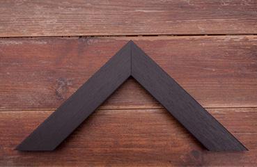 picture framing online medium black slight grain