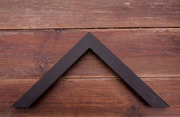 picture framing online narrow black slight grain