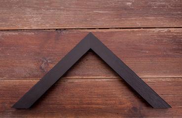 picture framing online narrow black slight grain