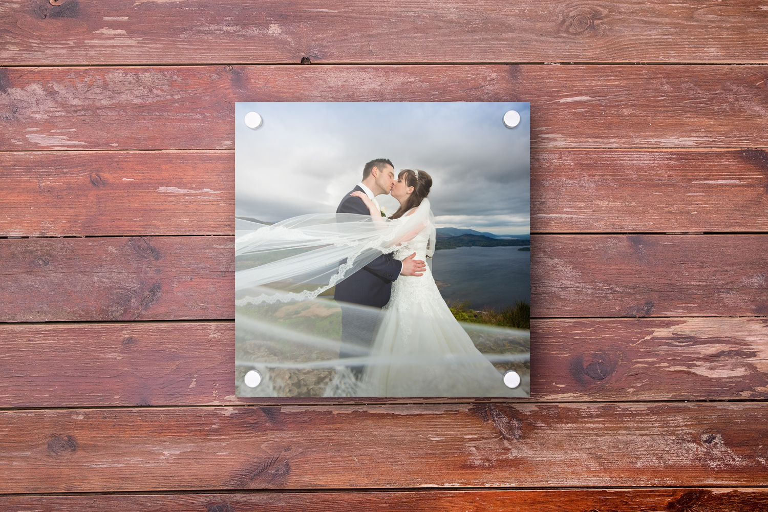 Square Acrylic Photo Frame