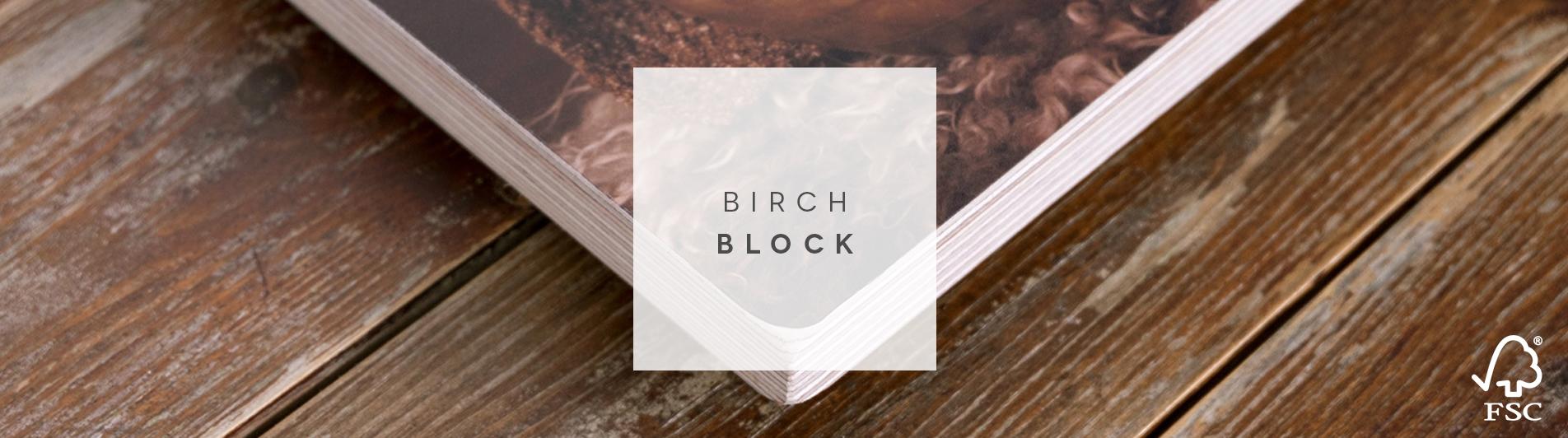 Birch Block FSC