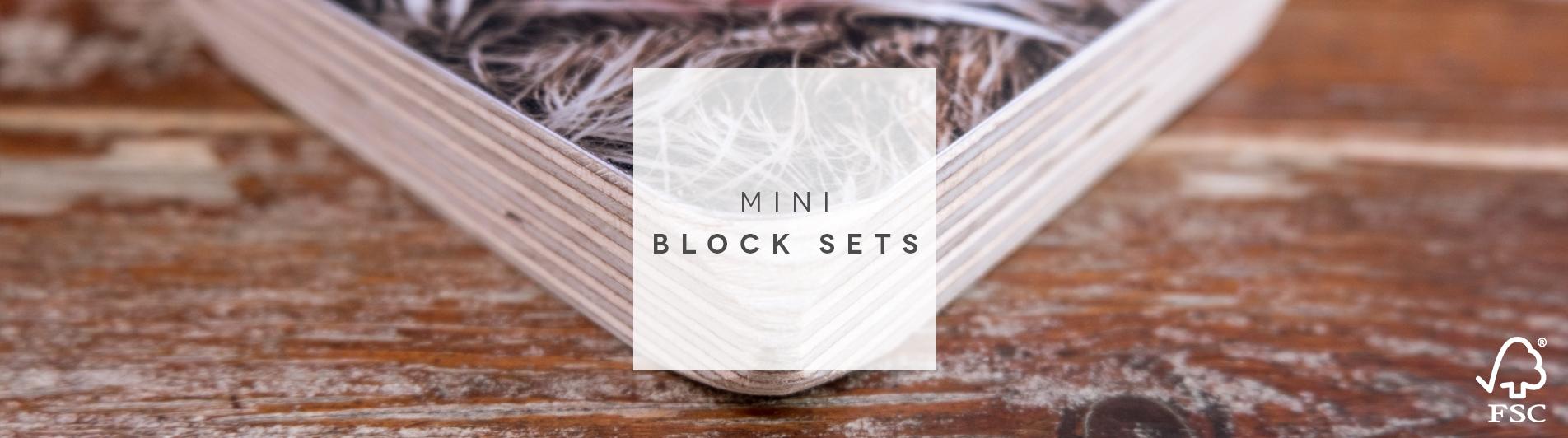 Mini Block Sets