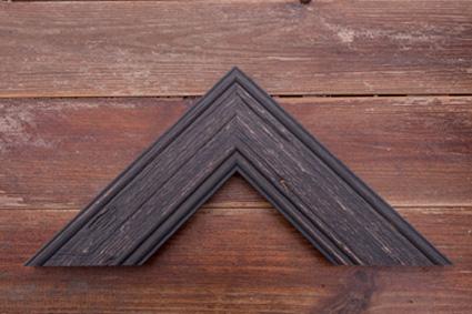 charcoal driftwood premium frame