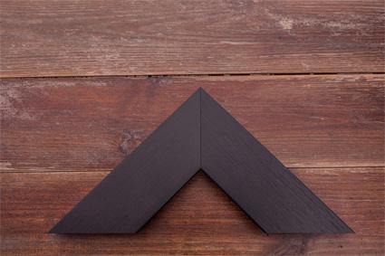 chunky black wood grain premium frame