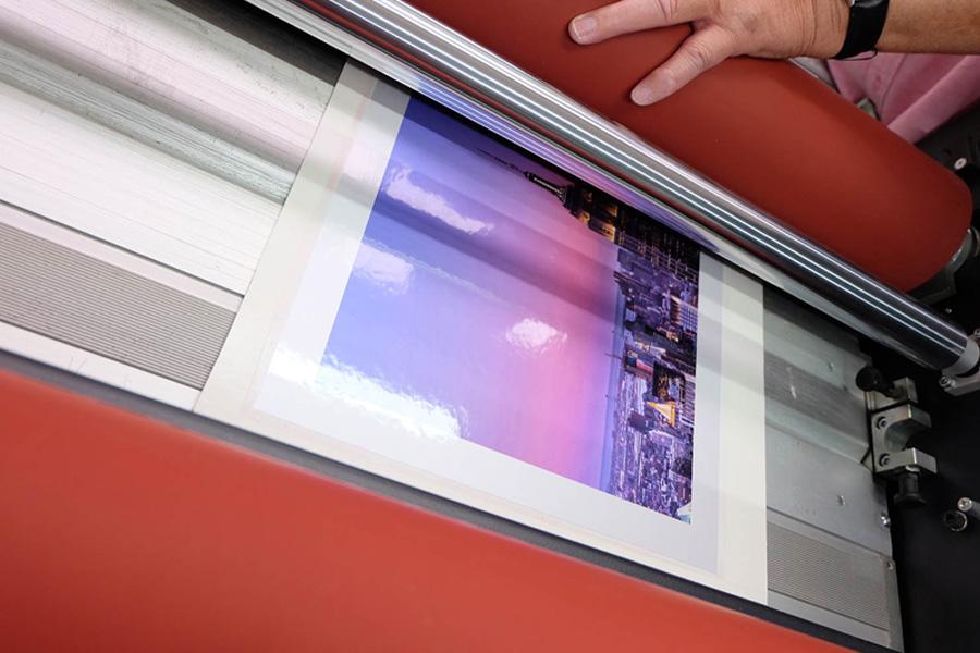 laminated prints