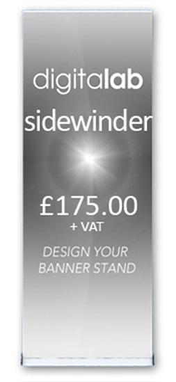 sidewinder banner stands