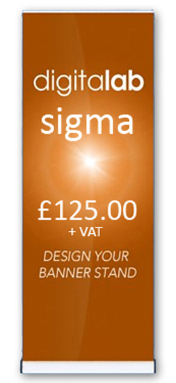 sigma banner stands