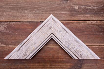 witewashed driftwood premium frame
