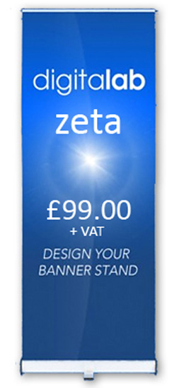 zeta banner stands