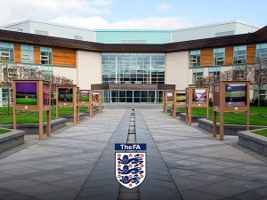 St Georges Park, FA photography exhibition