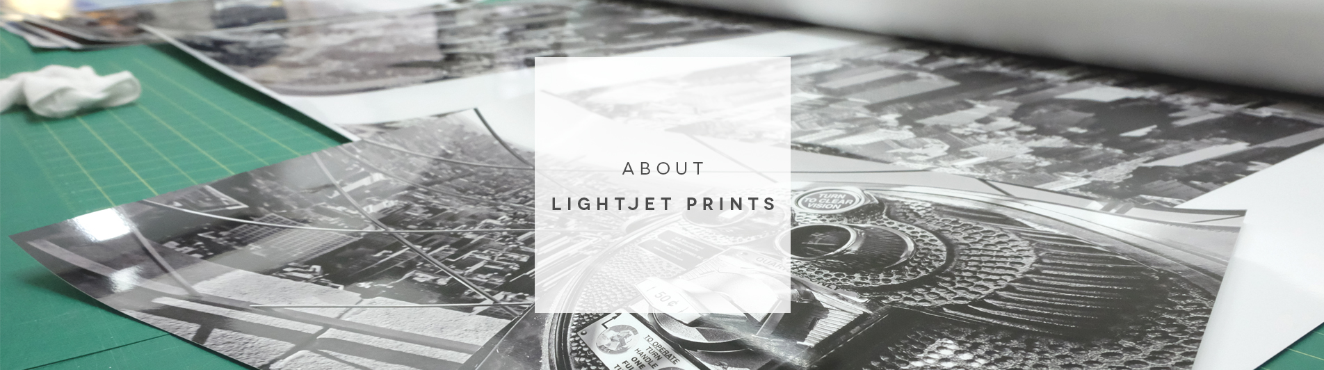 About Lightjet Prints