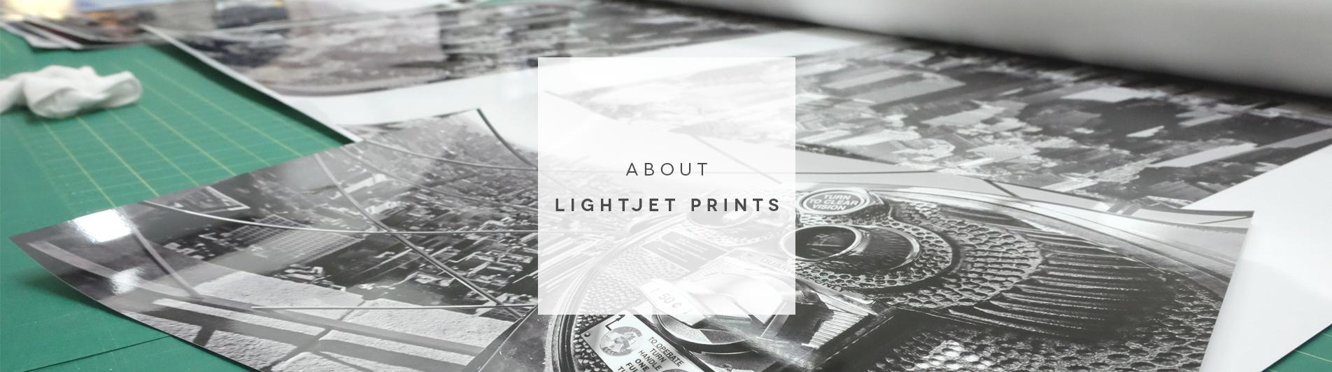 About Lightjet Prints