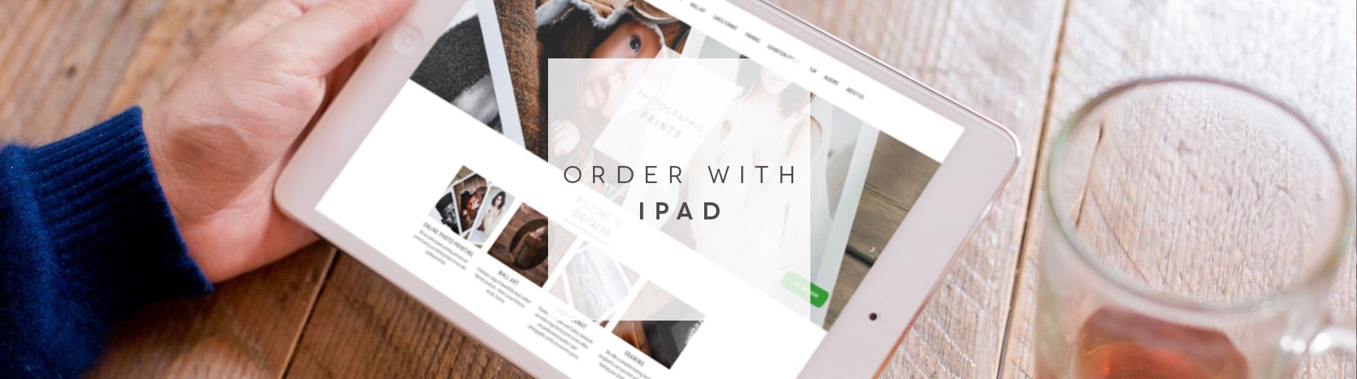 Order with IPad