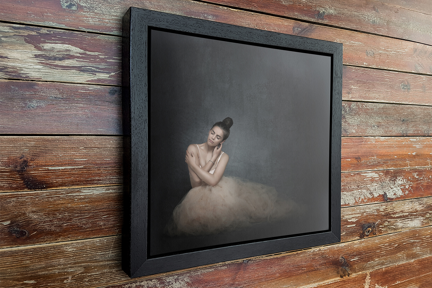 Canvas Print in a deep frame