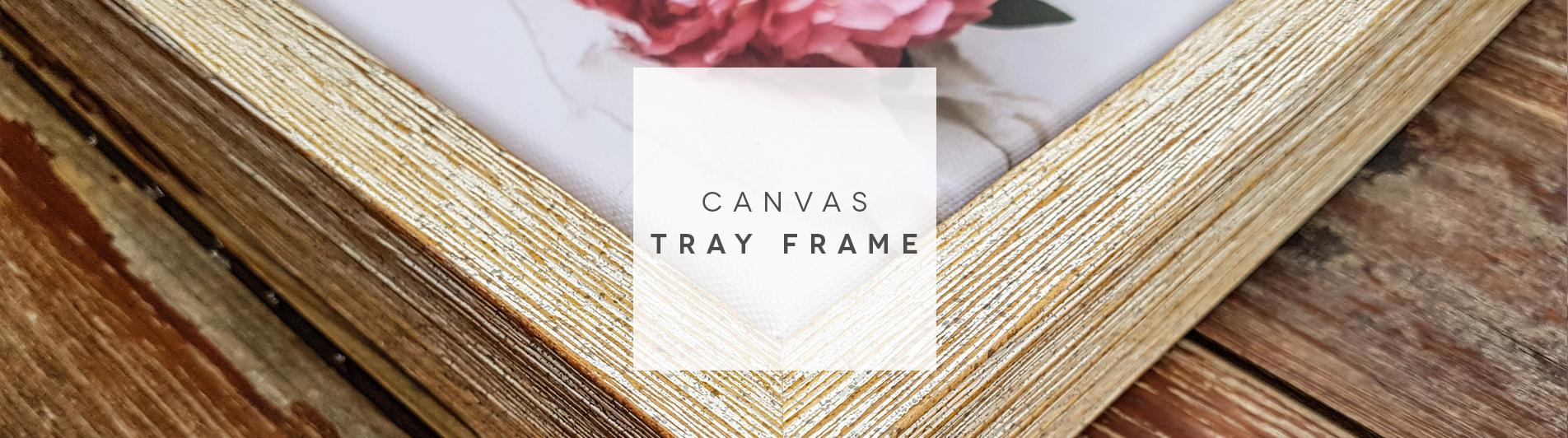 Canvas Tray Frame