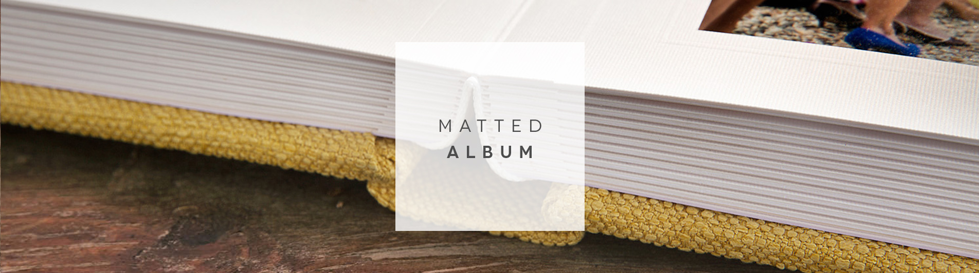 matted album header