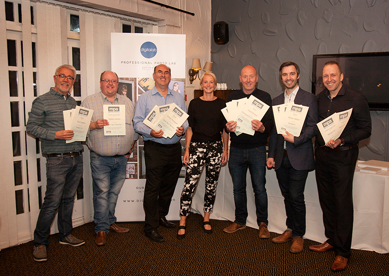 Winners at teh MPA North East awards