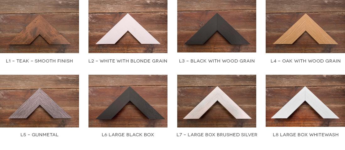 Selection of Large Frames
