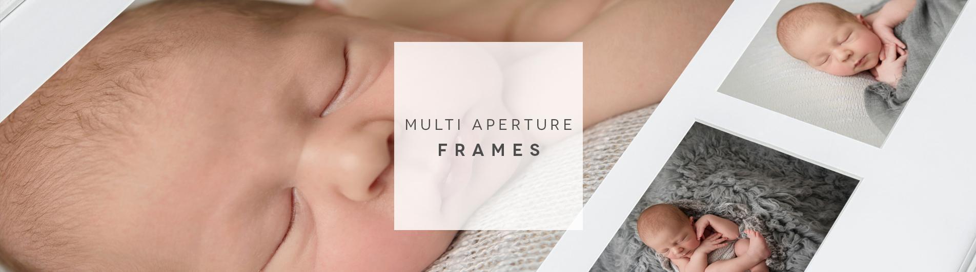 close up of a multi aperture layout
