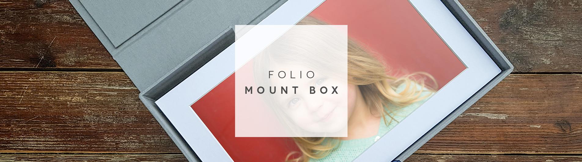 Header image for Folio Mount Boxes