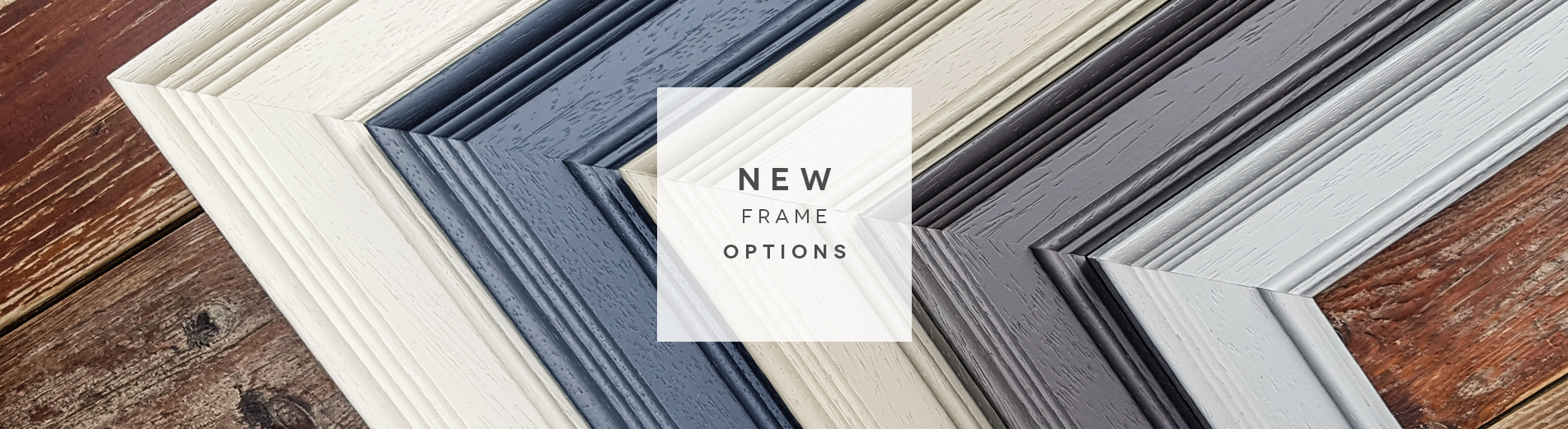 New colours for our premium and multi aperture frames