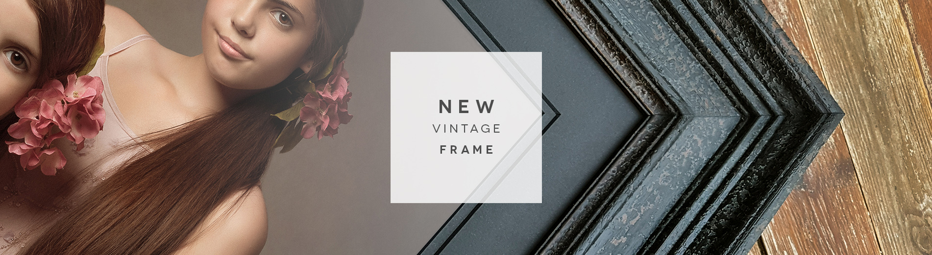 our new stunning vintage frames