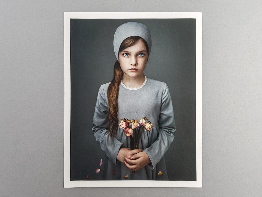 German Etch Fine Art Print