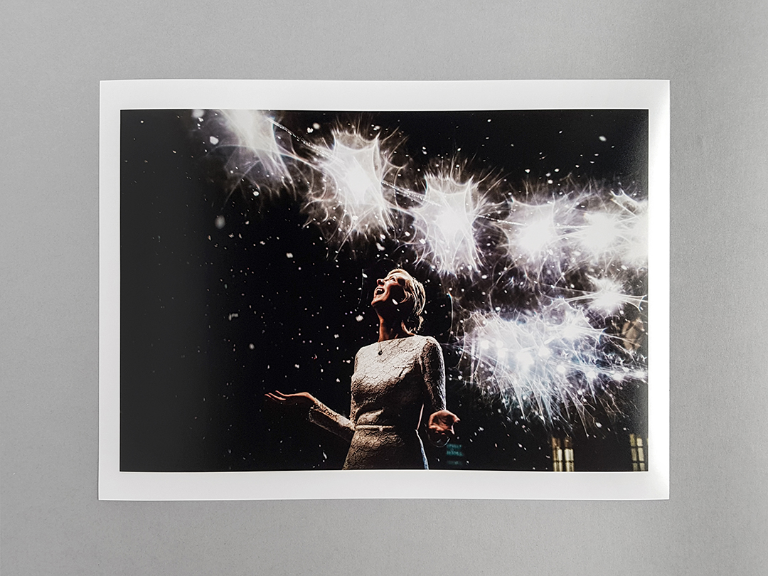 photographic print with a matte finish