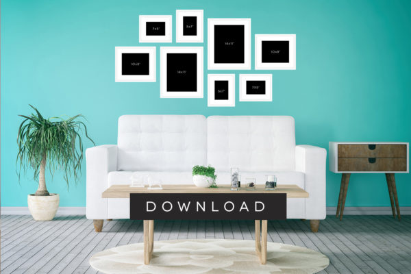 Photo Frame Room Set