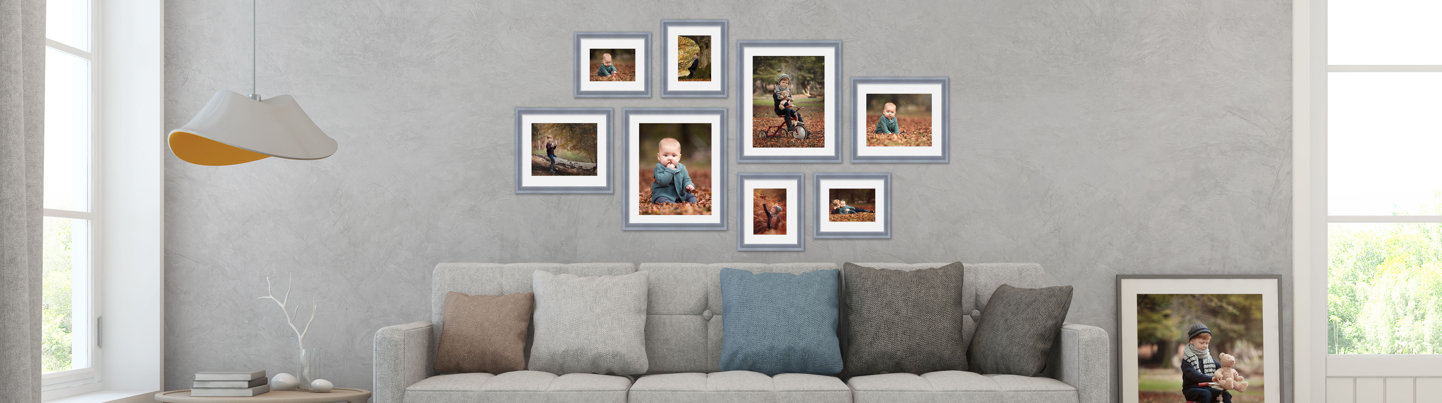 Build your own stunning Gallery Wall collections for your clients