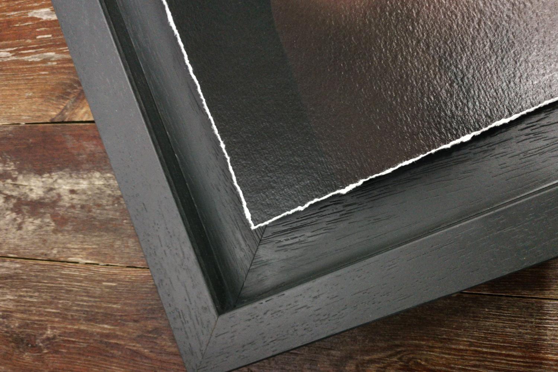 Frame detail on the Fine Art Tray Frame