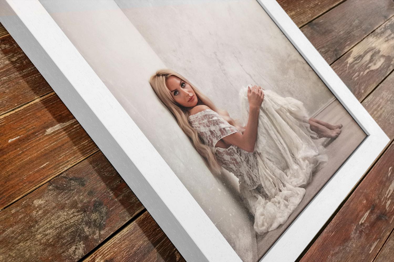 White Gallery Frame