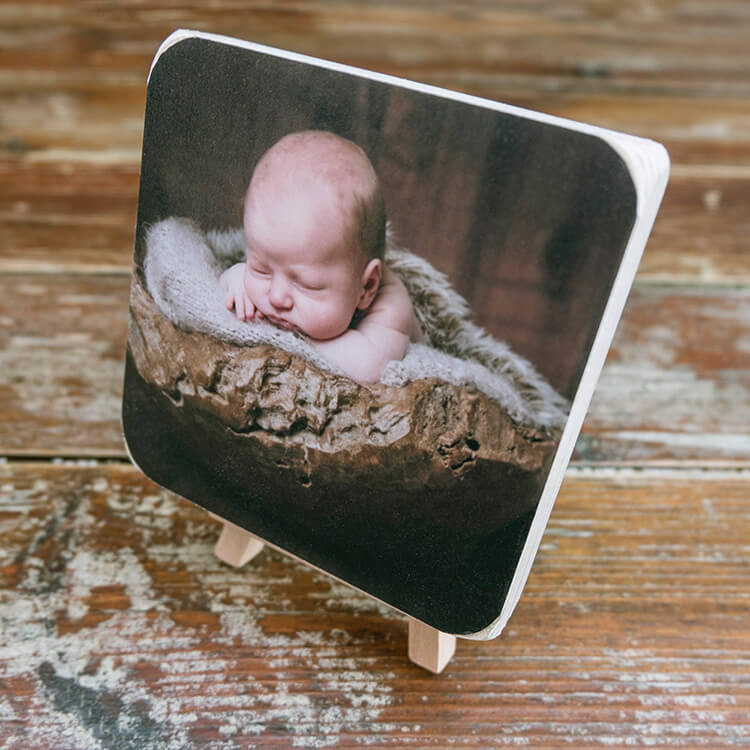 Mini Wood Block Birch Photographic Blocks