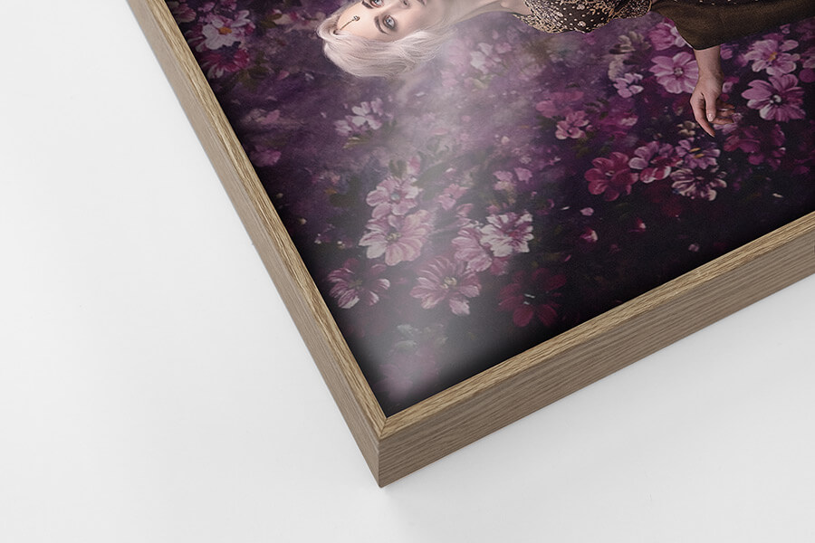 Alumi Frame - Maple, W: 5mm D: 35mm