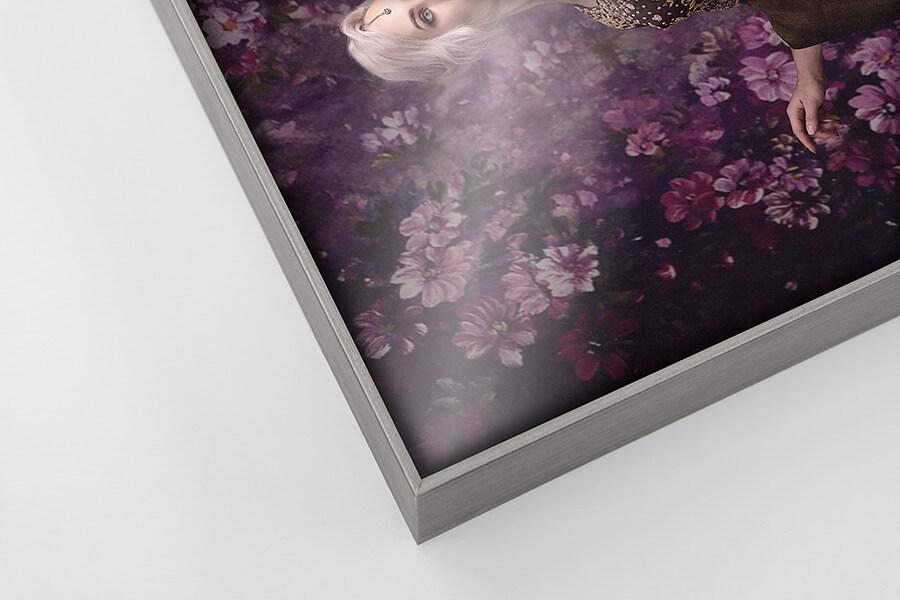 Alumi Frame - Silver, W: 5mm D: 35mm