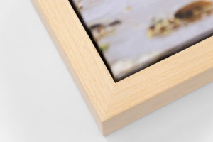 Deep Canvas Tray Frame - Ash, W: 30mm D: 53mm