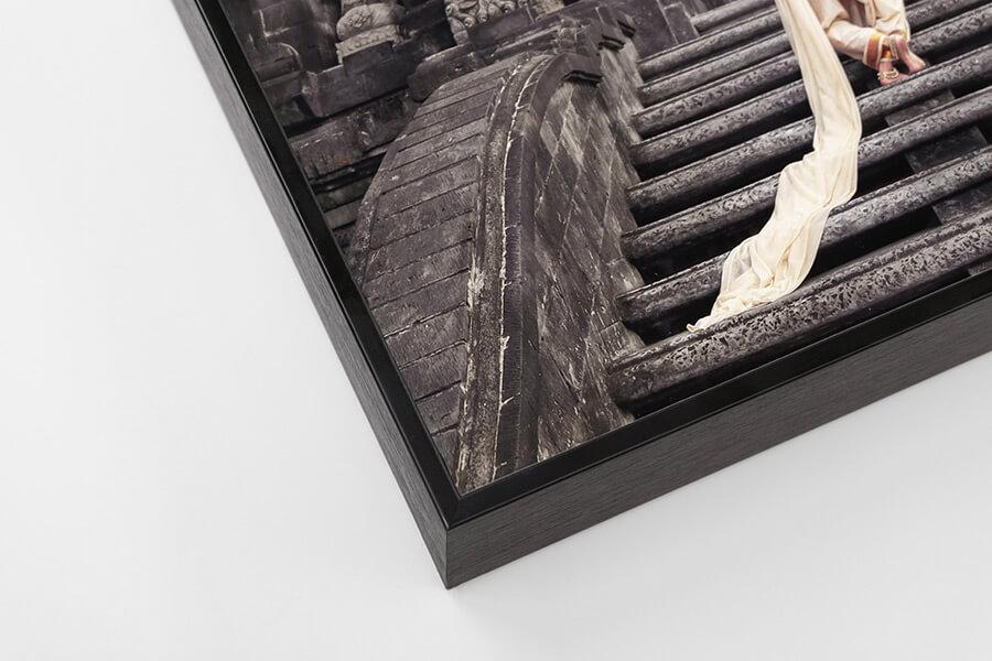 Box Frame - Black, W: 5mm, D: 42mm