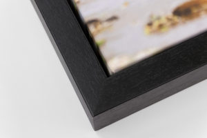 Deep Canvas Tray Frame - Black, W: 30mm D: 53mm