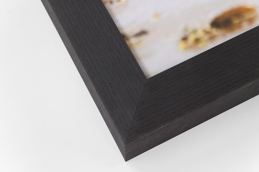 Framed Canvas - Black