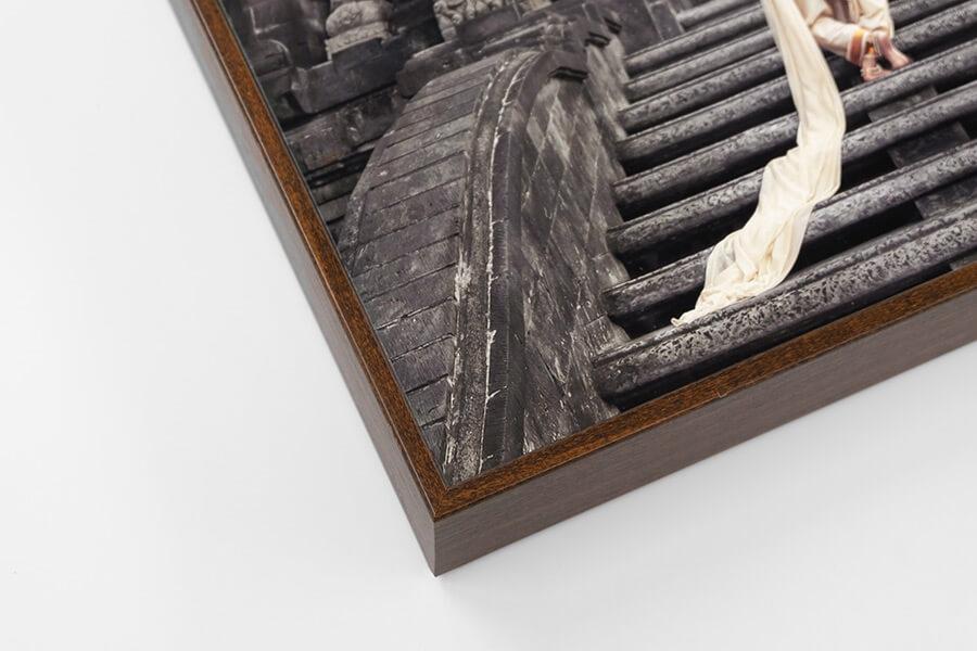 Box Frame - Walnut, W: 5mm, D: 42mm
