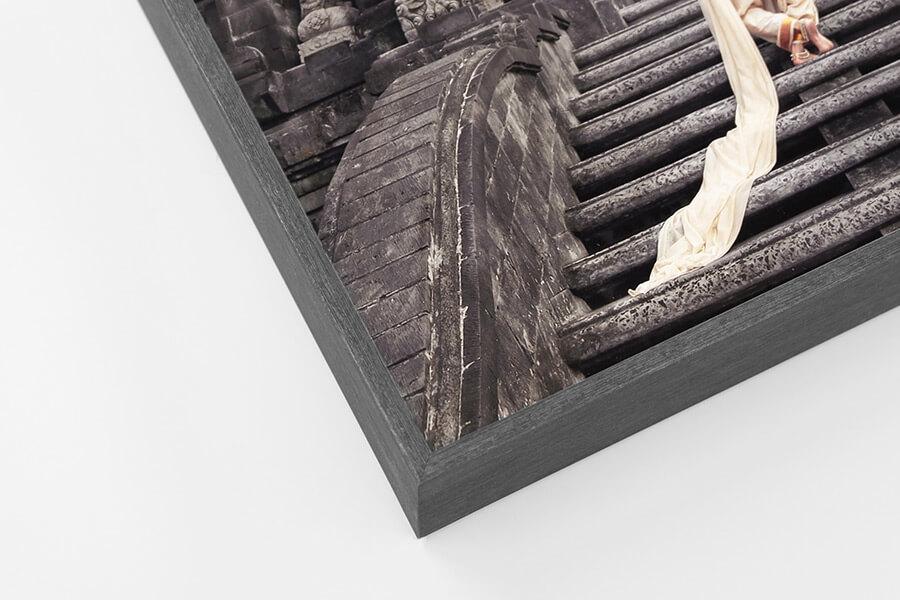 Box Frame - Dark Grey, W: 5mm, D: 42mm