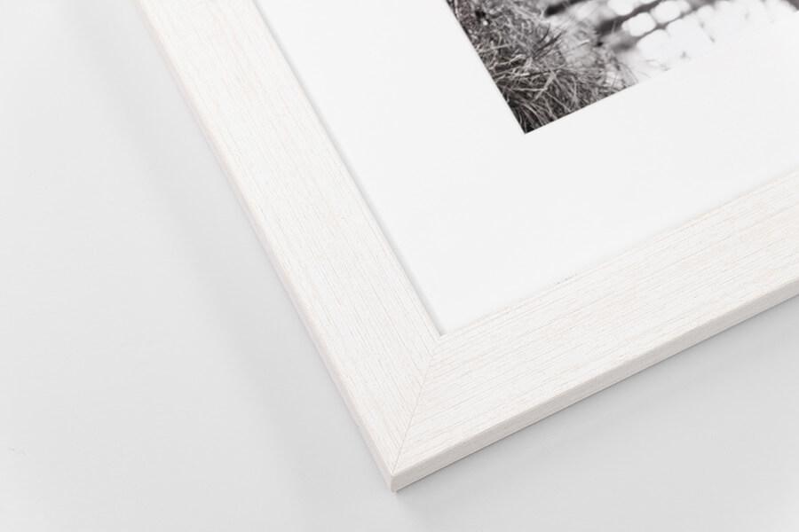 M1 - White Wood Grain, W: 30mm D: 15mm