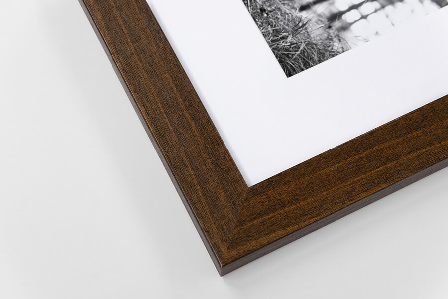 M2 - Brown Wood Grain, W: 30mm D: 15mm