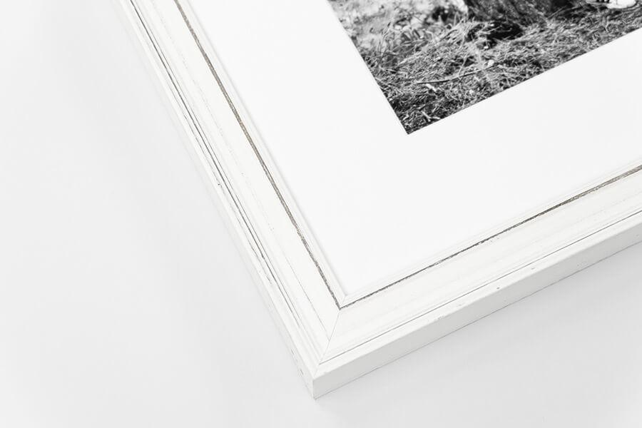 Hudson - Distressed White
