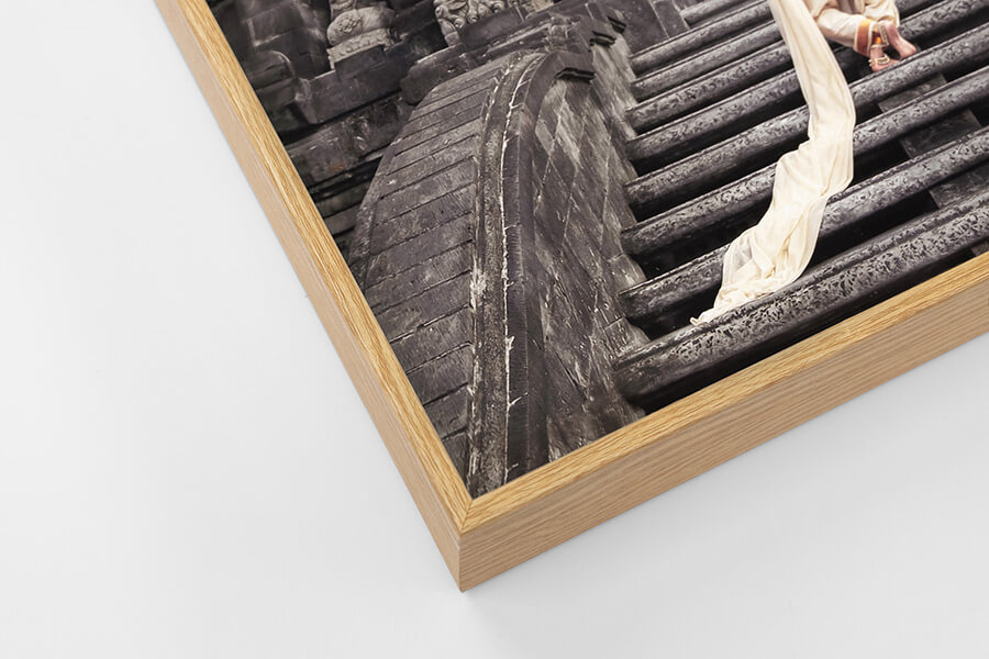 Box Frame - Oak, W: 5mm, D: 42mm