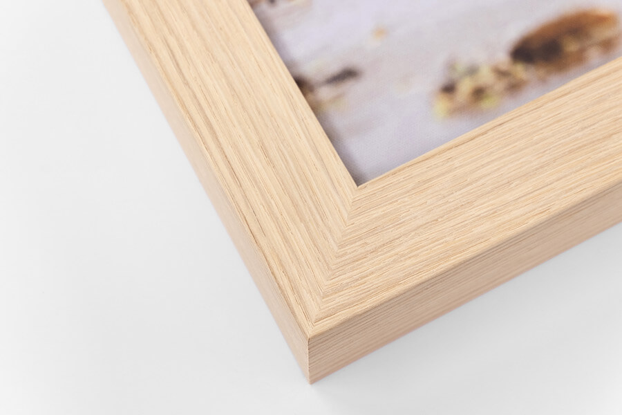 Framed Canvas - Oak, W:42mm, D:52mm