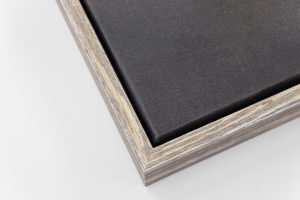 Canvas Tray Frame - Pebble, W: 20mm D: 35mm