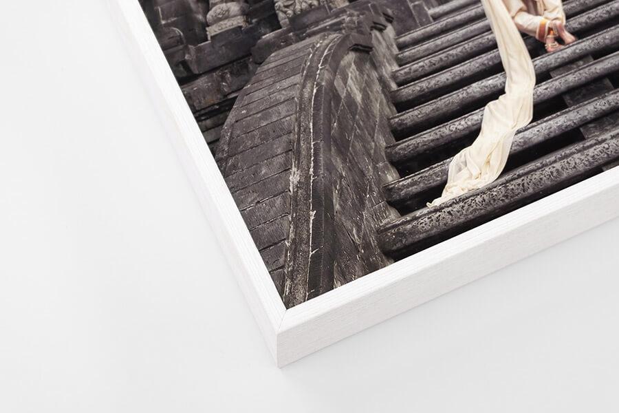 Box Frame - White, W: 5mm, D: 42mm