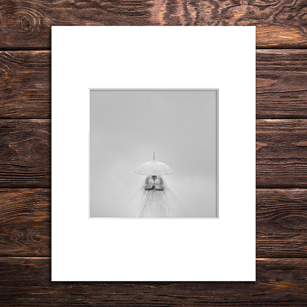 10x10 print in 20x16 window mount