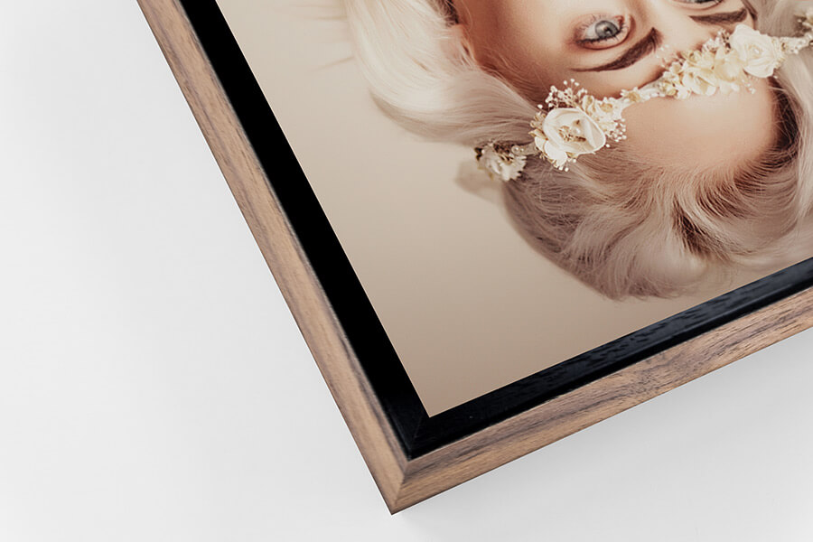 Detail of Walnut Tray Frame